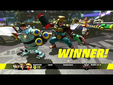 ARMS United Party Lobby highlights part 1