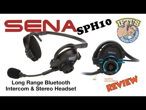 Sena SPH10 Bluetooth Intercom & Stereo Headset - REVIEW