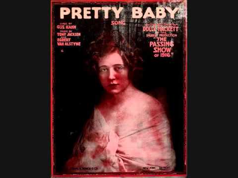 Harry Macdonough and the Orpheus Quartet - Pretty Baby (1916)