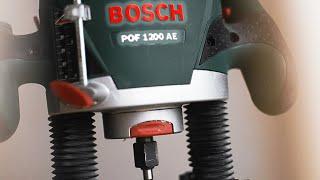 Обзор фрезера Bosch POF 1200 AE.