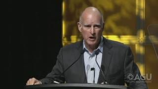 Gov. Jerry Brown to Climate Scientists: We Will Persevere