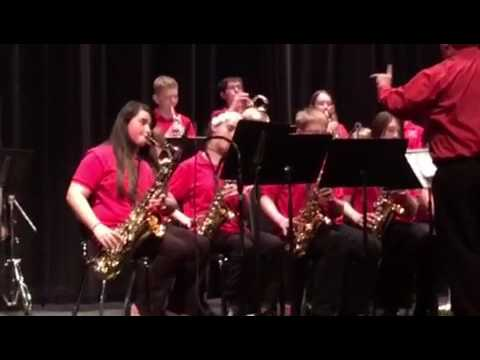 Sudden Sam Played By The Chief Moses Middle School Jazz Band!