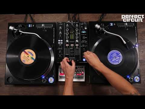 Pioneer DJ PLX-1000 Turntablism With Korg Volca Sample