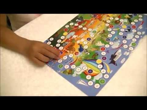 Vlog Настольные игры с кубиком и фишками (Подарок от Аэрофлот)