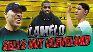 LaMelo Ball SELLS OUT CLEVELAND! Has TRIPLE DOUBLE!  Spire vs Garfield Heights VLOG!