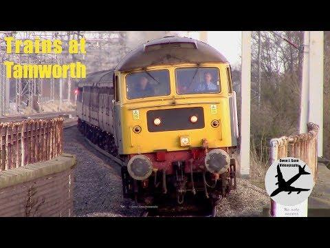 Trains at Tamworth   03/01/18