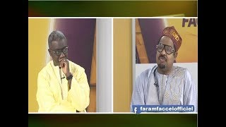 REPLAY - Faram Facce - Invité : AHMETH KHALIFA NIASS - 24 Avril 2019