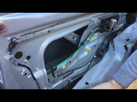 Door latch cable replacement- Kia Spectra