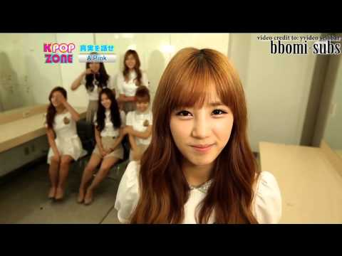[ENG SUB] KPOP ZONE A-PINK 100% Truth Time