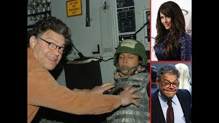 AL FRANKEN DONE IN POLITICS AND MUST RESIGN. ATTACKED TRUMP OVER RUSSIA