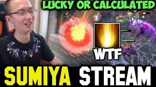 Lucky or Calculated Sunstrike | Sumiya Invoker Stream Moment #272