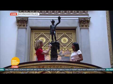 The Grand Staircase In Buckingham Palace | Good Morning Britain