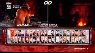 Tekken 6 - todos os personagens - Cada dia 1 game novo