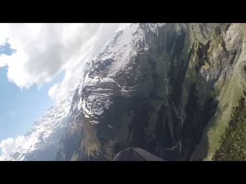 Paragliding flight from Grindelwald First to Interlaken (part2)