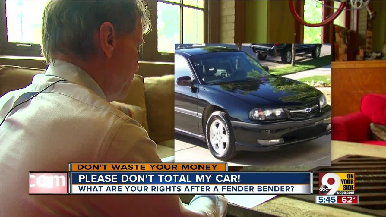 How a fender bender can \'total\' your beloved old car - YouTube