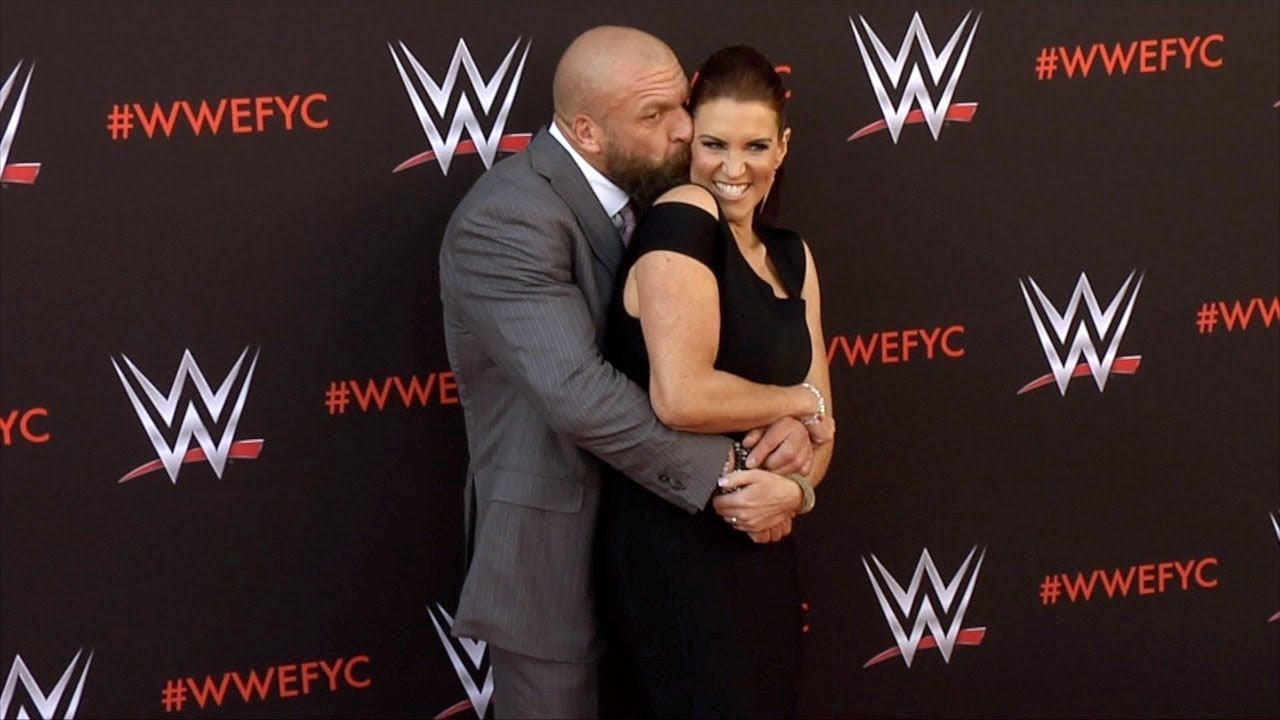 Triple H and Stephanie McMahon WWE's First-Ever Emmy FYC ...