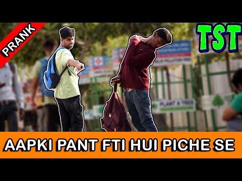 "APKI ""BRA"" KA COLOUR KYA HAI - TST - Pranks in India 2017"