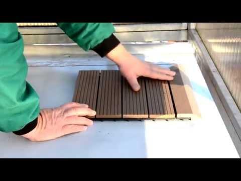 Jak Správně Začít S Pokládkou Dřevoplastových Dlaždic Na Terasu