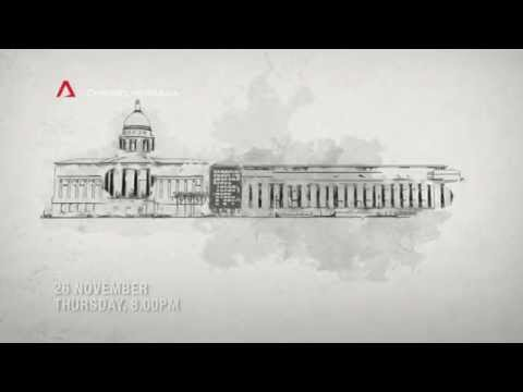 National Gallery Singapore Revealed on Channel NewsAsia Singapore (Trailer)