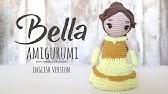 Tutorial Amigurumi Base Body For Princess Crochet Serie Princesses Lanas Y Ovillos In English Youtube