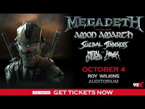 Megadeth Concert - 10.4.2016 - Roy Wilkins Auditorium (St. Paul, MN)