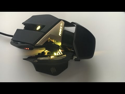 Gaming Maus Unboxing | Mad Catz R.A.T 8+