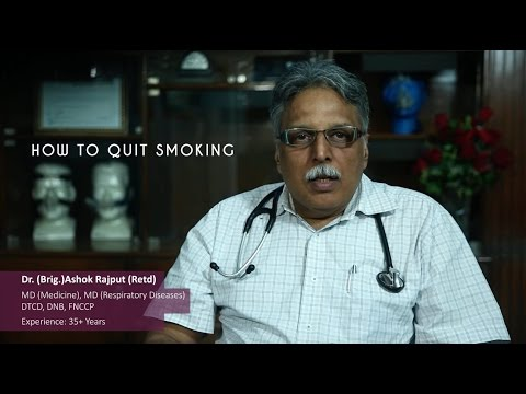 Doctor's Advice On How To Quit Smoking