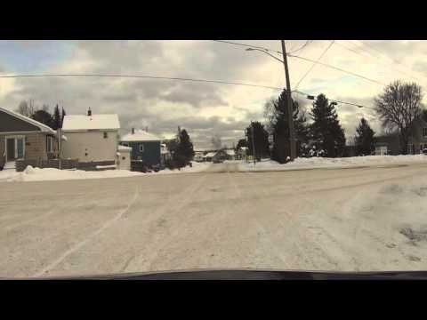 A ride around Kirkland lake and some water skipping