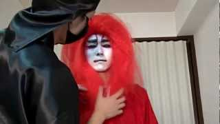 How to Apply Kabuki Make-Up plus Kabuki Dance
