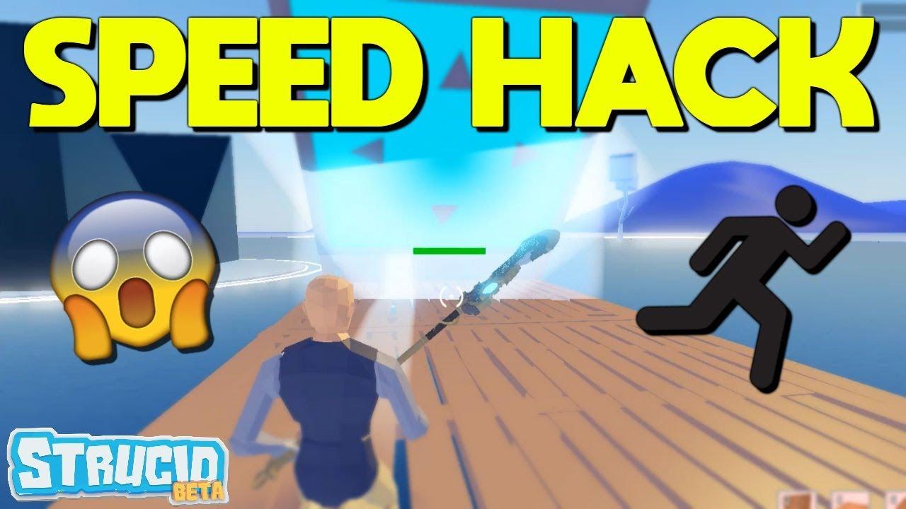 SPEED HACK Glitch In Strucid (Roblox) - YouTube