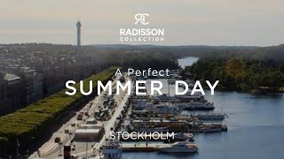 A Perfect Summer Day Seen From the Radisson Collection Strand Hotel, Stockholm