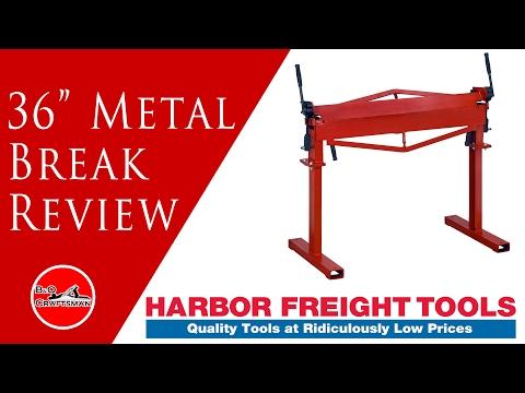 36 Inch Harbor Freight Metal Break Review