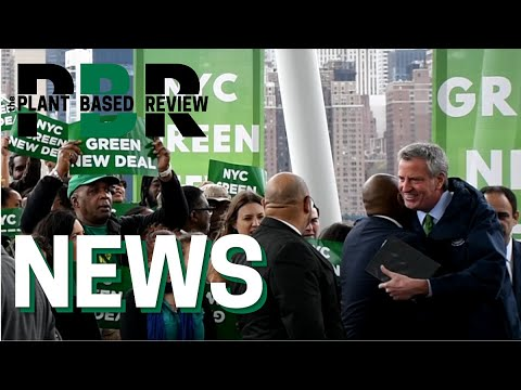 NYC TO REDUCE BEEF CONSUMPTION BY 50% | NYC GREEN NEW DEAL | THE PLANT BASED REVIEW NEWS ALERT