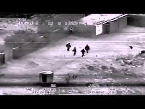 Apache !!!Helicopter Gunship in Iraq