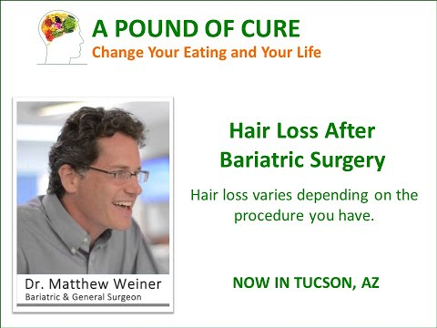 Hair Loss After Bariatric Surgery – Why am I losing my hair?