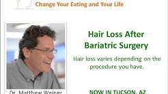 Hair Loss After Bariatric Surgery - Why am I losing my hair?