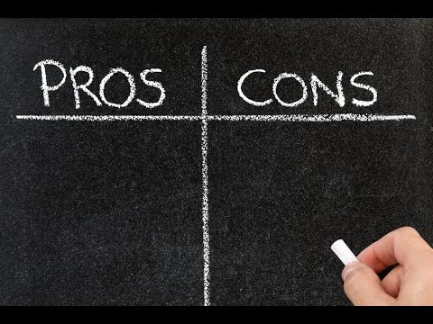 Quantify Your Pro-Con List to Make Better Decisions - YouTube