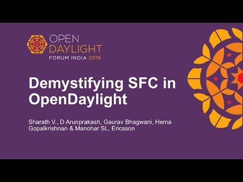 Demystifying SFC in OpenDaylight by Sharath V., D Arunprakash, Gaurav Bhagwani
