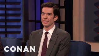 "John Mulaney's Orgasmic Acting On ""Big Mouth"" - CONAN on TBS"