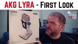 AKG LYRA C44 USB Microphone | First Look