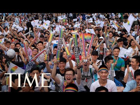 Download Youtube: Taiwan Sets A First For Asia With A Landmark Legal Ruling On Same-Sex Marriage | TIME