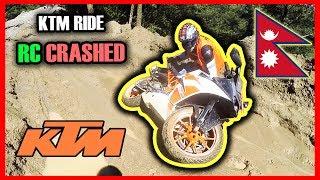 KTM ADVENTURE RIDE | KTM RC 200 CRASH | DUKE 250 CRASH | DUKE 200 CRASH | NUWAKOT