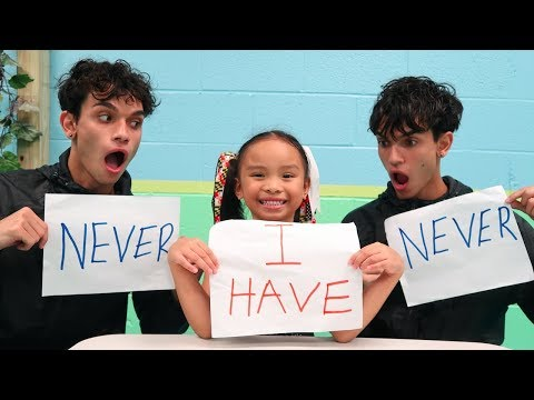 Thumbnail: NEVER HAVE I EVER ft. Our Little Sister!