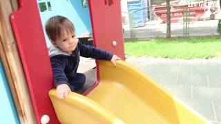 Leo Ride on Slide with Fireman Sam