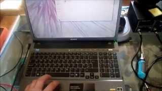 видео Не включается ноутбук SONY VAIO