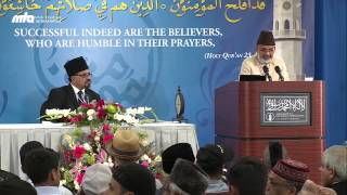A brief synopsis of the the high moral excellences of The Holy Prophet (saw) - Jalsa USA WC 2013