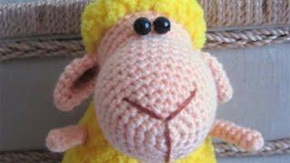 Амигуруми: схема Овечки. Игрушки вязаные крючком! Free crochet patterns. Free crochet patterns.