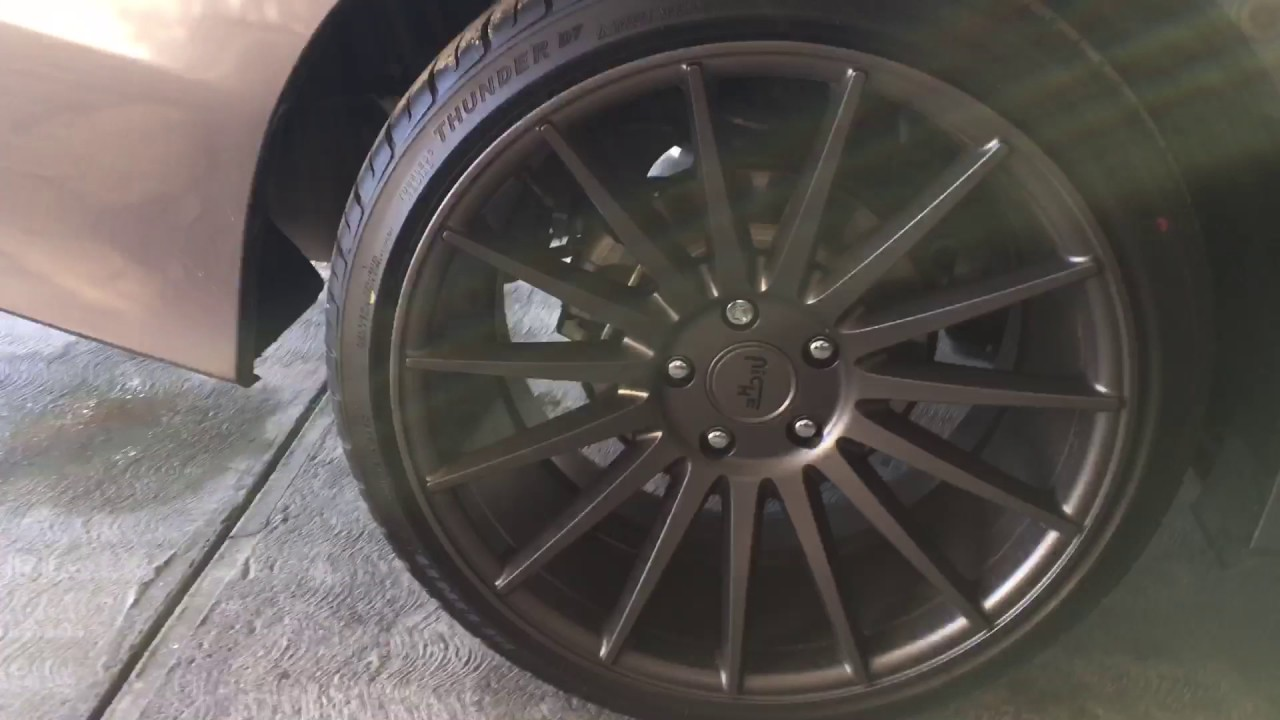 2016 honda accord niche form wheels