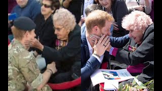 Prince Harry reunited with 98-year-old fan in Australia