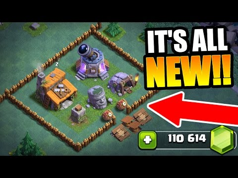 Thumbnail: GEMMING THE NEW BUILDER VILLAGE IN CLASH OF CLANS!! - NEW UPDATE 2017!